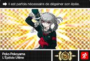 Danganronpa V3 Bonus Mode Card Peko Pekoyama S FR