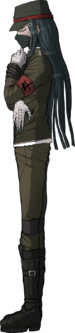 Danganronpa V3 Korekiyo Shinguji Fullbody Sprite (Debate Scrum) (3)