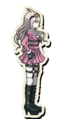 Danganronpa V3 Miu Iruma Death Road of Despair Sprite 02