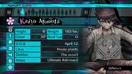Kaito Momota Report Card Unknown (For Shuichi)