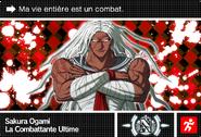 Danganronpa V3 Bonus Mode Card Sakura Ogami N FR