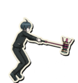 Danganronpa V3 Shuichi Saihara Death Road of Despair Sprite (Hammer) 07