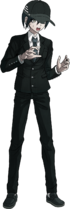 Danganronpa V3 Shuichi Saihara Fullbody Sprite (High School Uniform) (2)