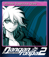 Danganronpa 2 - Steam Trading Card - Utlimate Suspicious Glare