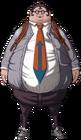 Danganronpa Hifumi Yamada Fullbody Sprite (PSP) (2)