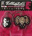FuRyu Minna no Kuji Dot Rubber Mascots Junko Enoshima and Monokuma