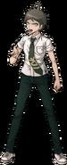Hajime Hinata Fullbody Sprite 05