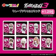 Chara-Cre x Danganronpa V3 Character Shop Merchandise (4)