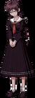 Danganronpa 1 Toko Fukawa Full Body Sprite (PSP) (3)
