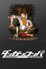 Danganronpa 1 Wallpaper - iPhone - Yasuhiro Hagakure