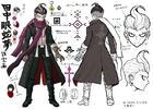 Danganronpa 2 Character Design Profile Gundham Tanaka