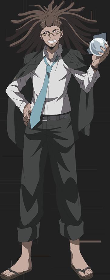 Danganronpa 3 - Fullbody Profile - Yasuhiro Hagakure