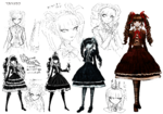 Celestia Ludenberg Beta Designs 1.2 Reload Artbook