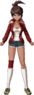 Danganronpa 1 Aoi Asahina Fullbody Sprite (PSP) (16)