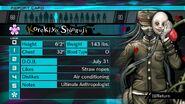 Korekiyo Shinguji Report Card Page 0 (For Shuichi)
