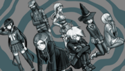 Danganronpa V3 CG - The students despairing at failing the Death Road of Despair (3)