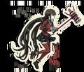 Danganronpa V3 Maki Harukawa Death Road of Despair Sprite (Hammer) 04