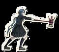 Danganronpa V3 Tsumugi Shirogane Death Road of Despair Sprite (Hammer) 05