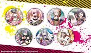Sengoku Asuka Zero x Danganronpa 3 Competition Can Badges