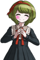 Danganronpa Another Episode Monaca Towa Halfbody Sprite (Vita) (3)