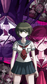 Digital MonoMono Machine Danganronpa Another Episode Cast iPhone wallpaper