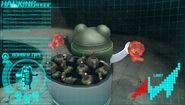 Bomber Monokuma under Komaru's control
