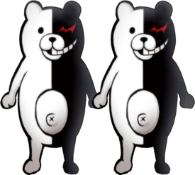 Danganronpa 2 Monokuma Fullbody Sprite 12