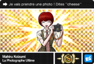 Danganronpa V3 Bonus Mode Card Mahiru Koizumi S FR