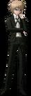 Danganronpa 1 Byakuya Togami Fullbody Sprite (PSP) (9)