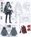 Danganronpa Another Episode Design Profile Haiji Towa