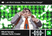 Danganronpa V3 Bonus Mode Card Hifumi Yamada N ENG