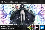 Danganronpa V3 Bonus Mode Card Kokichi Oma U FR