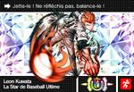 Danganronpa V3 Bonus Mode Card Leon Kuwata U FR