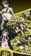 Digital MonoMono Machine Danganronpa 2 Cast iPhone wallpaper