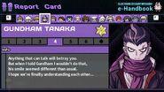 Gundham Tanaka's Report Card Page 4