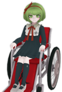 Monaca Towa Fullbody 3D Model