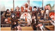 Danganronpa 1 CG - Class 78th Photo (Yasuhiro's)