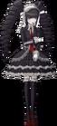 Danganronpa 1 Celestia Ludenberg Fullbody Sprite (PSP) (12)