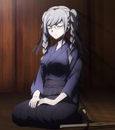 Danganronpa 3 Despair Arc Episode 1 Peko Pekoyama stitched