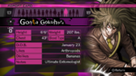 Danganronpa V3 Gonta Gokuhara Report Card (Demo Version)