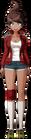 Danganronpa 1 Aoi Asahina Fullbody Sprite (PSP) (3)