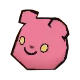 Danganronpa 2 Magical Monomi Minigame Enemies Type 04 Pink