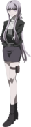 Danganronpa 3 - Fullbody Profile - Kyoko Kirigiri