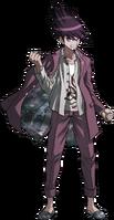 Danganronpa V3 Kaito Momota Fullbody Sprite (3)