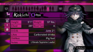 Kokichi Oma Report Card Page 0 (For Kaede)