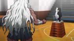 Danganronpa the Animation (Episode 08) - Sakura fighting Monokuma (12)