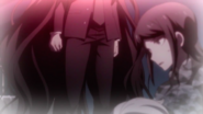 Despair Arc Episode 6 - Izuru telling Mukuro to pass on his message