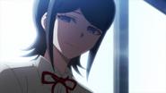 Despair Arc Episode 6 - Mukuro greeting Junko as she awakens
