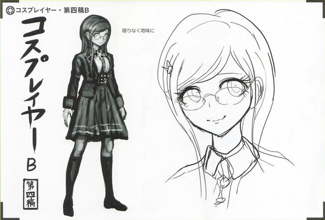 File:Art Book Scan Danganronpa V3 Character Designs Betas Tsumugi Shirogane (5).png