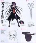 Danganronpa Another Episode Design Profile Genocide Jack